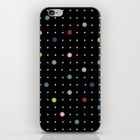 Pin Points On Back iPhone & iPod Skin