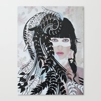 Love & Darkness Canvas Print