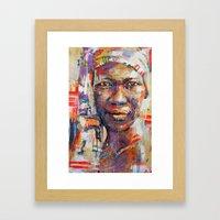 SERENE  Framed Art Print