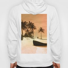 Sunset over the island Hoody