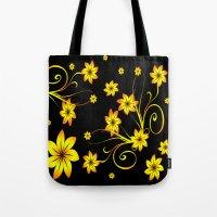 Flower Fantasy 3 Tote Bag