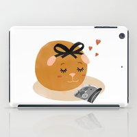 Guinea Pig Portrait 1 iPad Case