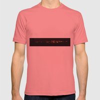 fire birds Mens Fitted Tee Pomegranate SMALL