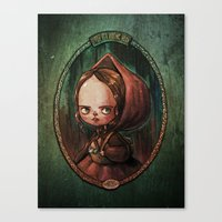 Little Red Riding Hood -… Canvas Print