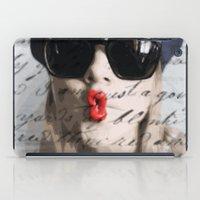 kiss iPad Case