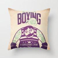 Life's Hard Throw Pillow