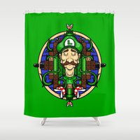 Luigi's Lament Shower Curtain