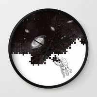 SOLVING THE BIG PUZZLE Wall Clock