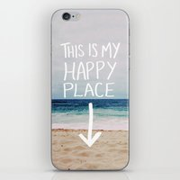 My Happy Place (Beach) iPhone & iPod Skin