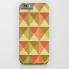 Triangle Diamond Grid iPhone 6 Slim Case