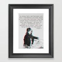EVR Framed Art Print