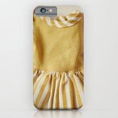 Doll Closet Series - Mustard Stripe Dress Slim Case iPhone 6s