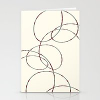 Simple shapes Stationery Cards