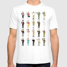 Murrays 2014 SMALL White Mens Fitted Tee