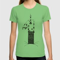 Uno Womens Fitted Tee Grass SMALL