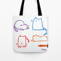 Cats cats cats cats Tote Bag