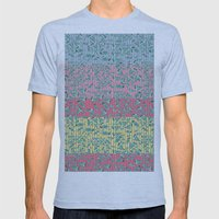 Birds! Mens Fitted Tee Athletic Blue SMALL