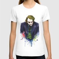 joker T-shirts featuring Joker by Lyre Aloise