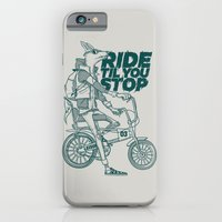 iPhone & iPod Case featuring Ride or Don't! by Fightstacy