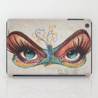 Butterflies Eyes iPad Case