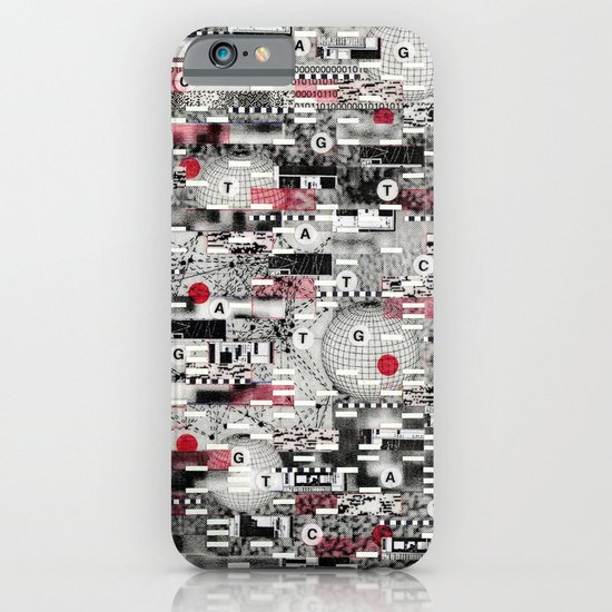 The Flaw Advantage (P/D3 Glitch Collage Studies) iPhone & iPod Case