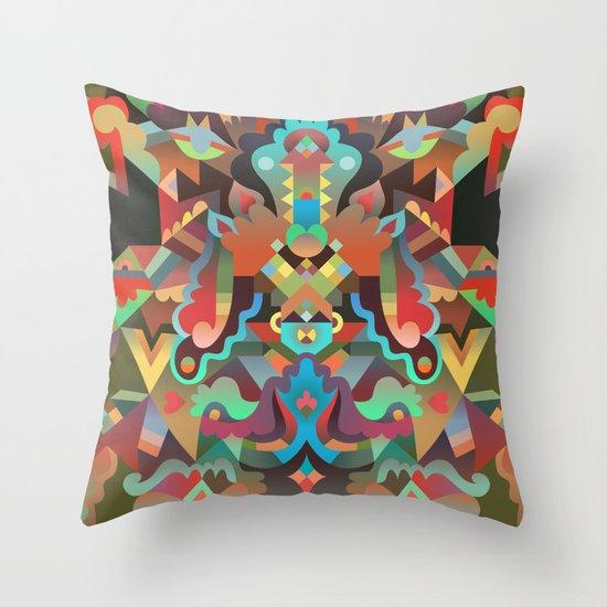 Your Dæmon Throw Pillow