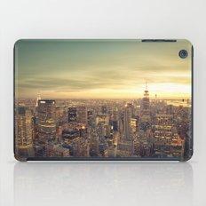 New York Skyline Cityscape iPad Case