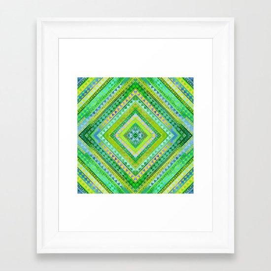 Rhythm II Framed Art Print
