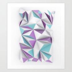 TRIANGLES//01 Art Print