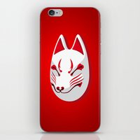 Japan Serie 3 - KITSUNE iPhone & iPod Skin
