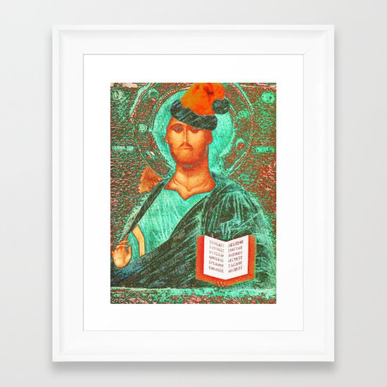 ORTHODOXMAS Framed Art Print