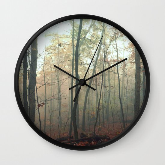 Wandering in a Fog Wall Clock