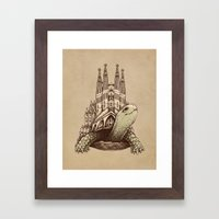 Slow Architecture Framed Art Print