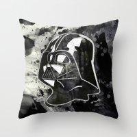 Darth Typo Throw Pillow