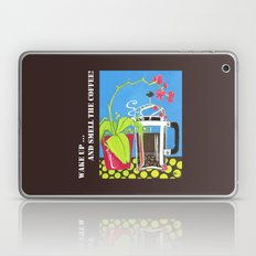 Wake up and smell the coffee Laptop & iPad Skin