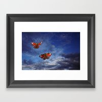 Free to Fly Framed Art Print