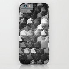 as the curtain falls (monochrome series) iPhone 6 Slim Case