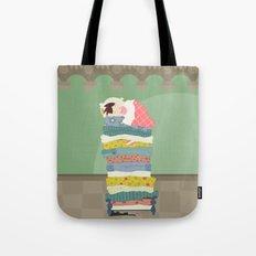 Princess and the Pea Tote Bag
