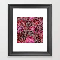 Floral Abstract 2 Framed Art Print