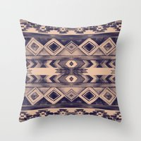 Southwest Pattern- Peach… Throw Pillow