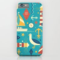 iPhone & iPod Case featuring All At Sea by Tracie Andrews