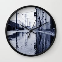 Another rainy day Wall Clock