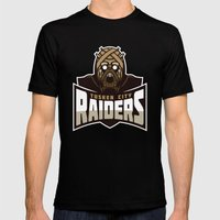 Tusken City Raiders - Tan Mens Fitted Tee Black SMALL