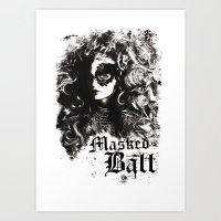 BALL Art Print