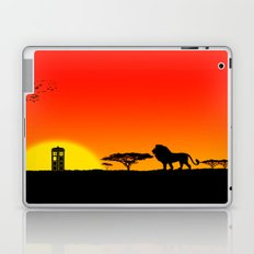 Tardis Sunset Laptop & iPad Skin