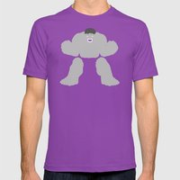 Radiology (Variant) Mens Fitted Tee Ultraviolet SMALL