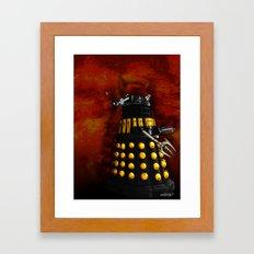 The Dalek Inquisitor General Framed Art Print