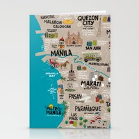 Metro Manila, Philippines Stationery Cards