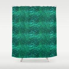 Liquid Metal. Shower Curtain