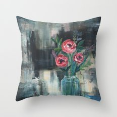 La espera Throw Pillow